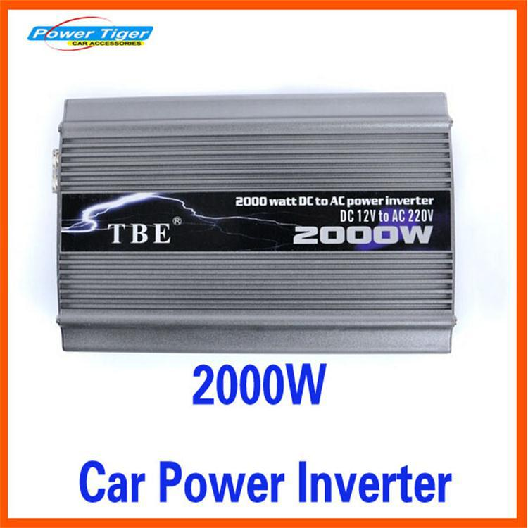 2000W Peak Power 4000W Car Converter Power Inverter DC 12V TO AC 220V Car Charger Modified Sine Wave Auto Electronic Accessories(China (Mainland))