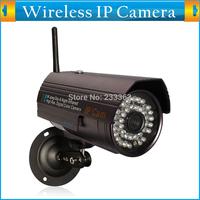 Mini P2P Plug&Play WiFi Outdoor Waterproof Bullet Camera Wireless Internet Network CCTV IR Night Vision Motion Detection Webcam