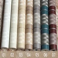 Vertical Stripe PVC Wallpaper 7 Colors Living Room Bedroom Background Wall papel de parede roll