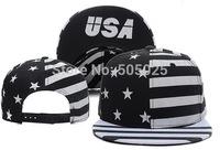 Free drop-shipping new Unisex Adjustable Funny Hip pop Fashion USA Letters Snapback Hat Men Women Baseball Cap