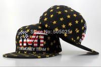 Free drop-shipping new Unisex Adjustable Hip pop Fashion The Money Team Letters Snapback Hat Men Women Baseball Cap good quality