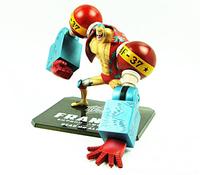 Classic Anime/Comic Eiichiro Oda One Piece Franky/Cutty Flam Cola Man PVC Figure Toys New In Box