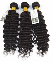 5A Queen Rose:3bundles burmese virgin human hair extensions deep Wave curly 100% unprocessed raw hair DHL fast free shipping