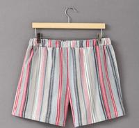 WOMEN SECRECT Spanish Brand Outer wear Shorts free Size elastic waist loose recreational home Pajamas striped original price32EU