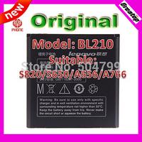 Original 2000mAh BL210 battery for Lenovo S820 S650 A656 A766  LI-POLYMER battery 1 piece Free shipping