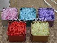 200G Paper/silk/shredding and joyful box filler material/lafite grass, paper silk stuffing box sugar wholesale