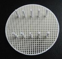 Dental Lab Materials Porcelain pan porcelain furnace pan rack circle porcelain  including 10 white pins
