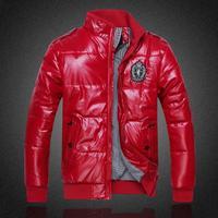 2014 New Arrival Men's Jacket Winter Overcoat Warm Padded Jacket Large Sizes XL - 4XL