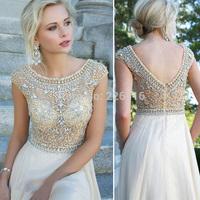 2014 Time-limited New Hot&sexy Crystal Sheer Illusion Bodice Satin A-line Skirt Long Evening Dresses Custom Vestidos De Fiesta__