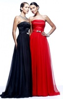 Elegant Color Organza Top Sale New Arrival 2014 Sexy A Line Long Floor Length Prom Evening Dresses Formal Gownsb