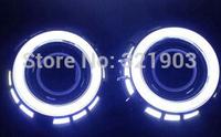 DC 8V---30V --Direct selling 2014 new, updated version 95 cm diameter LED light cotton angel eyes