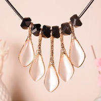 Five Water Drop Crystal Necklaces Pendants Fashion Jewelry Necklace Pendant