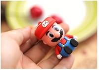 Cartoon mini Super Mario model 16GB 32GB USB Flash Drive Thumb/Car Pen 64g drive Personality Gift Freeshipping