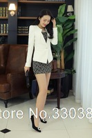 2014 Spring new female small suit jacket paragraph Korean version of the influx of female long-sleeved suit Slim 8563