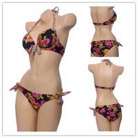 2014 NEW sexy lady sexy bikini swimwear bathing suits bikini push up swimsuit for women bikini set top and bottom 142