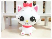 mini pussy cat usb 64 gb character animation cartoon cute girl festival gifts