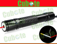 Cubote One 635nm 200mw Orange-Red Laser Pointer With Focusing Function Can Burn Cigarettes (Black)