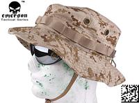EMERSON Boonie Hat Woodland Marpat Military Tactical Army Hat Anti-scrape Grid Fabric camouflage hat DD/Desert Digital