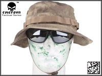 EMERSON Boonie Hat Woodland Marpat Military Tactical Army Hat Anti-scrape Grid Fabric camouflage hat A-TACS