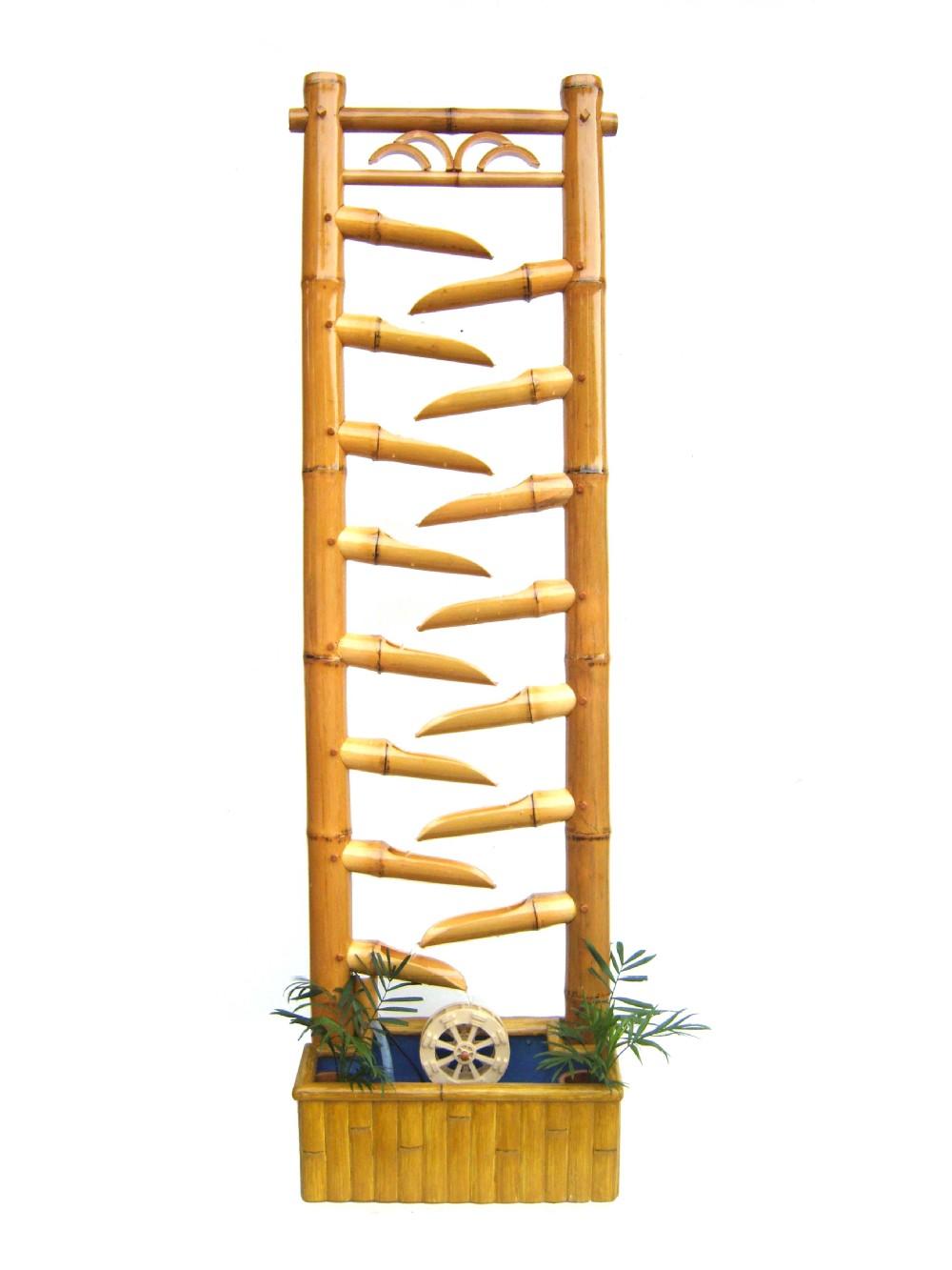 achetez en gros fontaine en bambou en ligne des grossistes fontaine en bambou chinois. Black Bedroom Furniture Sets. Home Design Ideas