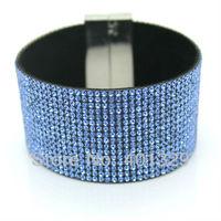 Latest Most Popular Rhinestone Bracelet South Korean With Leather Bracelet With Fashionable Charm Bracelet