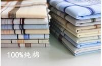100% Cotton Handkerchiefs men's handkerchief  women handkerchief   6pcs/lot  039