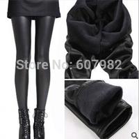 Autumn Winter Leggings Women Thicken Thin Leggings Faux Leather Stretchy Skinny Leggins Girl Legging Trousers Legging For Women