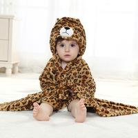 Infant cape style cloak cape leopard flannel single