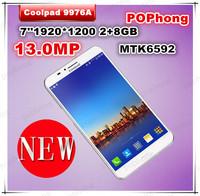 Original Coolpad 9976A MTK6592 Octa Core phatablet 7 inch 3G Phone Call Gorilla Glass 1920*1200 2G RAM 8G ROM Tablet PC