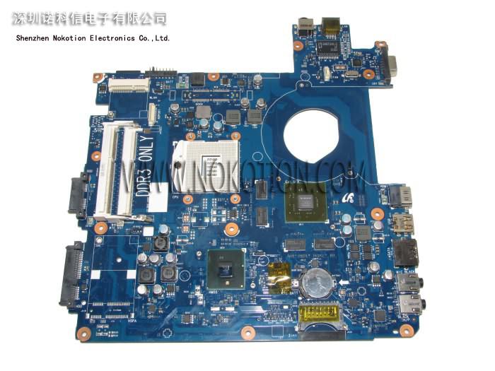 BA92-06462A Laptop motherboard samsung P580 Intel hm55 ddr3 Socket pga989 With nvdia GeForce GT330M graphics(China (Mainland))