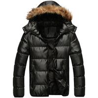 New arrival 2014 slim detachable cap wadded jacket ,fashion gold color winter outwear jacket , warm snow wear coat , sport coa