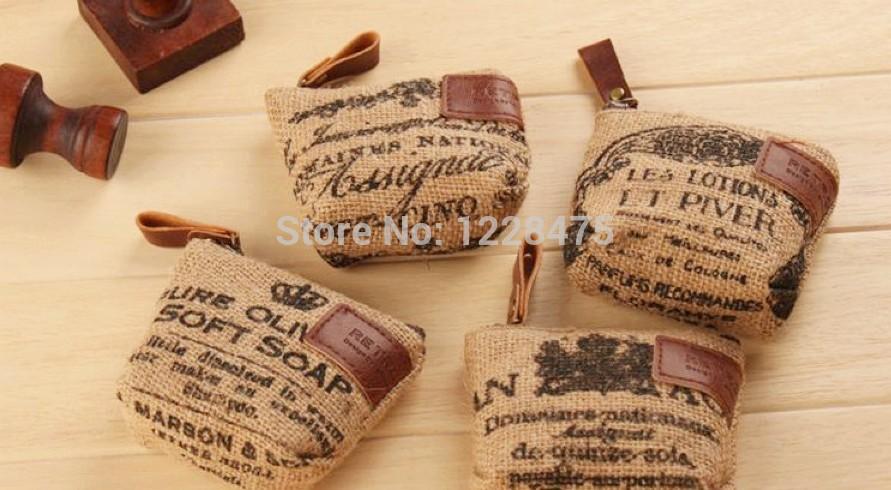 New vintage linen life fabric coin bag/small Portable Wallet /coin purses(China (Mainland))