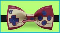 Original Design Retro Fashion Gamepad bow tie groom dress tuxedo silk ribbon bow tie Valentine's gift for man party bow tie