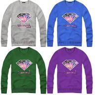 CT-54 Plus size new 2014 women men Pullovers hip hop sweatshirts diamond supply co men supreme supreme sweatshirt Punk diamond