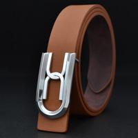 2014 New Unisex Fashion Men Belts Letter Buckle Belts for Men Luxury Unisex Belts Belts