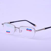 fashion  reading eyeglasses with  men women  metal frame anti fatigue bifocal reading glasses +1.0,+1.5,+2.0,+2.5,+3.0,+3.5.+4.0