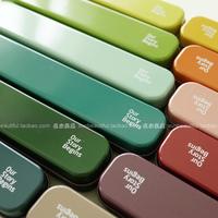 Top Fasion Slender Tin 12 Color Pencil Box Pencil Case Stationery Color Pencil Case  Korea School Supplies Stationery Cute