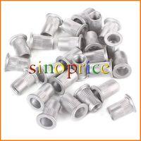 25pcs Aluminum M8 Rivet Nut Rivnut Insert Nutsert 8mm (Silver) Free Shipping