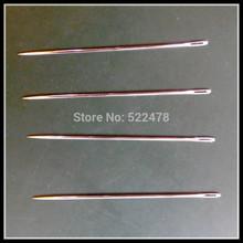 144 units OF 60mm Sharp  I type of  hair weaving needles Straight type needles  for hair weft(China (Mainland))