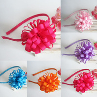 princess colorful young Baby Girl hair flower hairband Headbands for Kid's Hair Accessories headwear