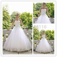 Vestido Sale Direct Selling Backless New Designer Sweetheart Wedding Dresses 2014 Sexy Applique Long Bridal Gowns Arrivalbridalk