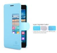 honor 6 Smart case,Original Nillkin Fresh side flip Leather case For Huawei honor 6 + Sleep/wake up + package freeship