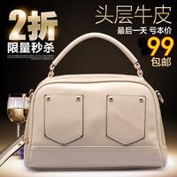 2014 women's fashion handbag cowhide shoulder bag messenger bag genuine leather