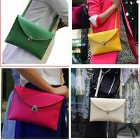 shoulder bag aslant packet 2014 hand bag envelope bag female BaoXia style restoring ancient ways