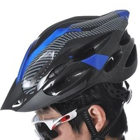 Wholesale 19 kong pays bicycle light carbon fiber helmet men riding helmets