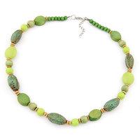 Bohemian Turquoise Beads Statement Necklace Women Jewelry