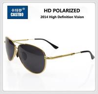 2014 High Definition Polarized Lens Men's Design Sunglasses Male TAC Driving Fishing Sports Man Aviator Spiral Frame Sun Eyewear