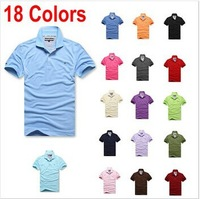 To man Brand Logo New 2014 Spring New Fashion Men Casual Shirt Slim Fit Tops & Tees Famous Camisas