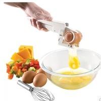 Free shipping 4 pcs / lot EZ Cracker Egg Cracker with Separator! Separate Egg Tool Best Mather Gift