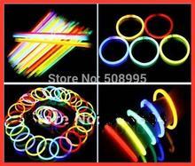 fluorescent bracelets flashing lighting wand novelty toy nice glow sticks for christmas celebration festivities ceremony item(China (Mainland))